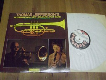 Thomas Jefferson's Intl New Orleans jazz band Autograf?