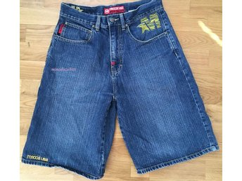 Mecca jeans shorts baggy street skate Skank rock loose fit