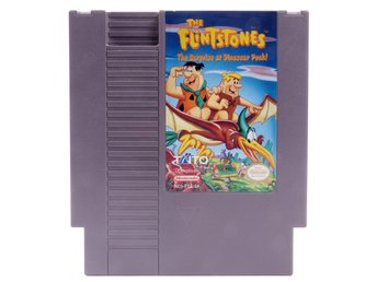 The Flintstones: Surprise at Dinosaur Peak (NTSC) - Nintendo NES - NTSC (USA)