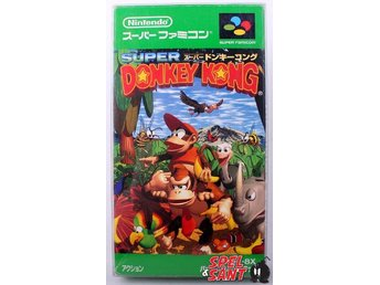 Donkey Kong Country (inkl. Skyddsbox & Japansk Version)