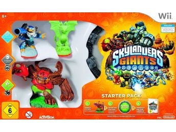 Wii - Skylanders: Giants - Starter Pack (Glow in the Dark Version)