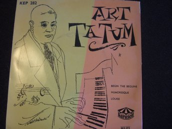 EP - ART TATUM. Begin the beguine + 2. 1955