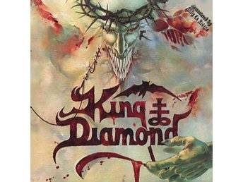 King Diamond -House of god DLP with large poster S/S black v