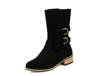Dam Boots Sexy Buckle Footwear Shoes black H 41