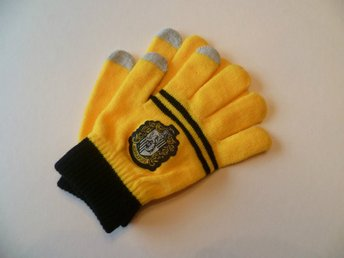 Harry potter Hufflepuff vinter touch screen Handskar vantar cosplay