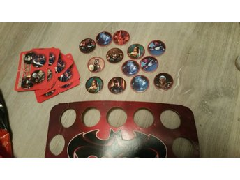 BATMAN & ROBIN POGS COLLECTION