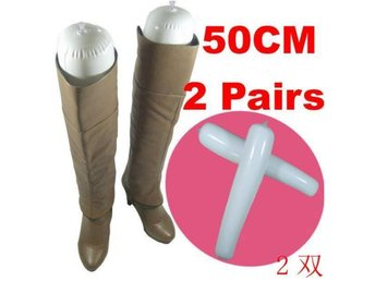 NY! 2 Pair Long Boots Shoes Stand Holder Support 50CM