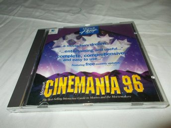 Cinemania 1996 Mac CD ROM