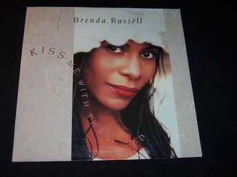 "BRENDA RUSSELL - KISS ME WITH THE WIND 12"" 1990 USA"