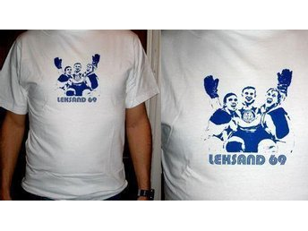 LEKSAND LEKSANDS IF SUPERCOOL 60-tal T-SHIRT SCREENTRYCKT XXL