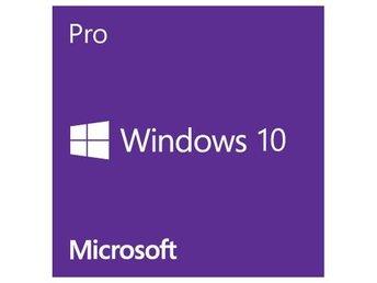 Windows 10 Pro OEM Engelska - Nybro - Windows 10 Pro OEM Engelska - Nybro