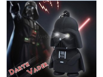Nyckelring Darth Vader Star Wars LED Ficklampa