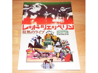 LED ZEPPELIN - IN CONCERT AND BEYOND JAPAN FILMPROGRAM 1976