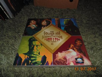 The golden age of science fiction thrillers - 3st Box laserdisc