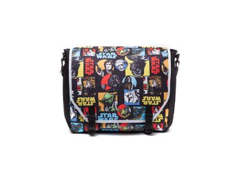 Messenger Bag - Star Wars - Retro Characters Comic Style