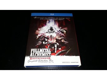 Fullmetal Alchemist - Brotherhood (4Disc) (Complete Collection Two)