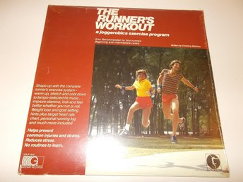 THE RUNNER'S WORKOUT Joggerobics excercise program LP USA 1982 SEALED
