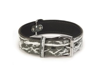 Beeztees Hundhalsband Safari läder 45 mm 61,5-71 cm 745909