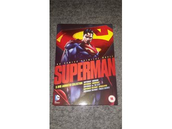 Superman animated collection, 5 filmer import