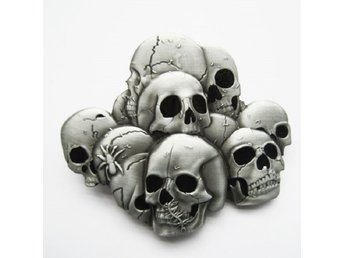 Pile Of Skulls Buckle Spänne.