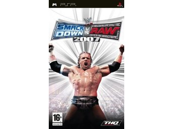 WWE Smackdown Vs RAW 2007 - Playstation PSP