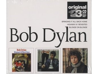 CD Bob Dylan Original 123 CD Box Set Australian 3-CD album set (Triple CD)