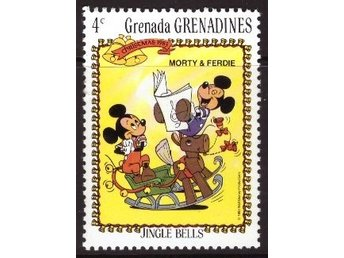 Disney, Grenada, Grenadines, 4-cent Morty and Ferdie