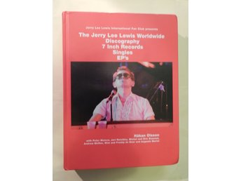 Jerry Lee Lewis Worldwide 7 Inch Records Discography Book