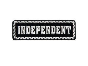 Independent Patch Brodyrmärke.