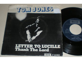 Tom Jones 45/PS Letter to Lucille 1973 VG++