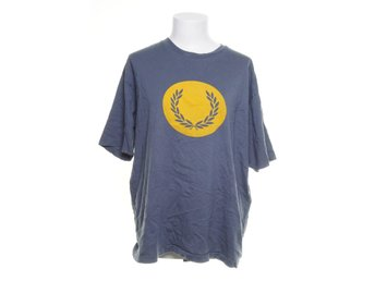 Fred Perry, T-shirt, Strl: XL, Ljusblå