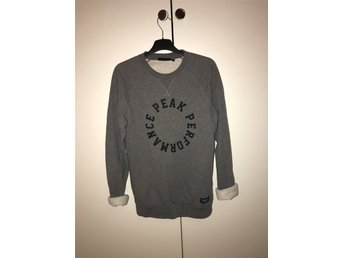 Grå Peak Performance sweatshirt