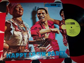 HAPPY LATIN PARTY LP 1971