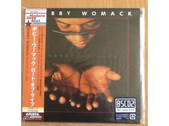 Japan-pressad CD BOBBY WOMACK (The Valentinos) Muscle Shoals Toppskick