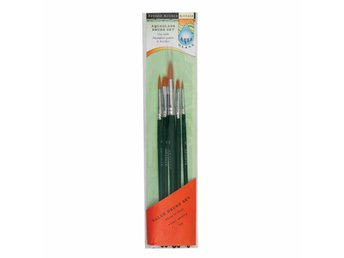 Artiste Aqua Glass Brush Set - 5 olika penslar