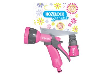Hozelock Seasons Multi-sprutmunstycke rosa 2676 6720
