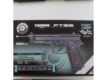 Taurus PT92 Stainless CO2 GBB Auto