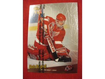 CHRIS OSGOOD DETROIT RED WINGS - TOPPS FINEST 1998-1999 - 98-99