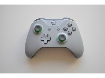 Xbox One Handkontroll Gray/Green - Original (Kontroll)