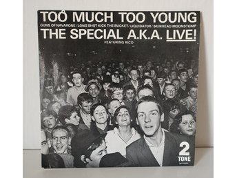 ** THE SPECIALS SPECIAL A.K.A LIVE FEATURING RICO - 5 LÅTAR **