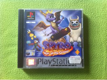Spyro Year of the Dragon Platinum komplett till PlayStation PS1