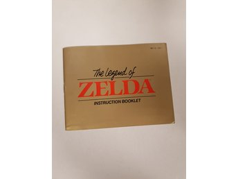 The Legend of Zelda - Manual NES NINTENDO - USA