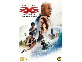 XXX - The return of Xander Cage (DVD)