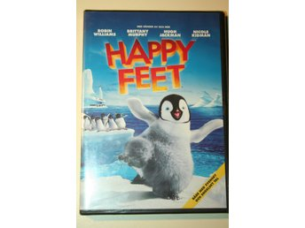 Happy Feet (DVD) NY & Inplastad!