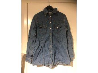 Plus free form jeansskjorta jeans skjorta strl .. (331464111) ᐈ Köp ... 63a5479ba101a