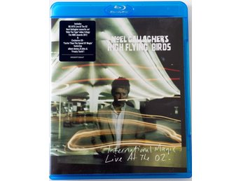 Noel Gallaghers High Flying Birds Internation Magic Live at the O2 blu-ray + CD