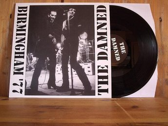 THE DAMNED / Birmingham 77' / LP / NYSKICK / PUNK