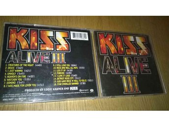 Kiss ‎- Alive III, CD