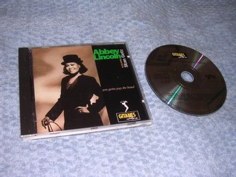 Abbey Lincoln feat Stan Getz -You Gotta.. CD NM/EX 1991 Rare