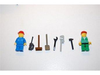 Lego nr 30, verktyg, mekaniker gubbar, lego figurer nr 4 - Växjö - Lego nr 30, verktyg, mekaniker gubbar, lego figurer nr 4 - Växjö